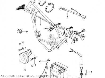 Kawasaki KZ200A1 1978 CANADA parts lists and schematics