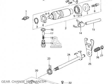 Kawasaki KZ200A1A 1978 CANADA parts lists and schematics