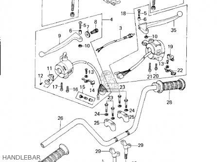 Kawasaki Kz200a1a 1978 Canada parts list partsmanual