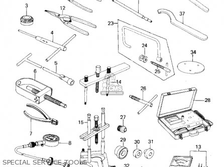 Kawasaki KZ200A1A 1978 CANADA parts lists and schematics
