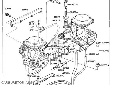 Kawasaki Kz305a1 Csr 1981 Usa parts list partsmanual