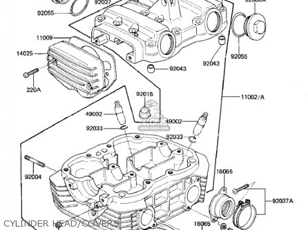 Kawasaki KZ305A1 CSR 1981 USA parts lists and schematics
