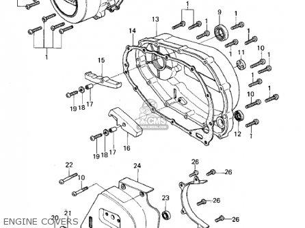 Kawasaki KZ400B2 1979 CANADA parts lists and schematics