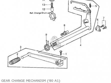 Kawasaki Kz440a2 Ltd 1981 Usa Canada parts list