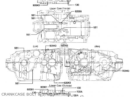 Kawasaki Kz440g1 1982 Usa Canada parts list partsmanual
