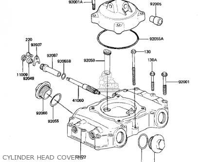 Kawasaki Kz440g1 1982 Usa Canada parts list partsmanual