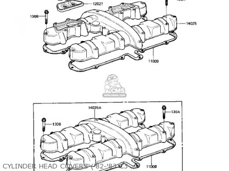 Kawasaki Kz550c2 Ltd 1981 Usa Canada parts list