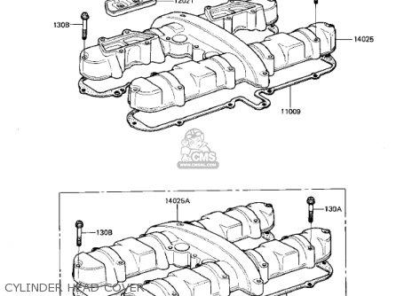 Kawasaki Kz550d1 Gpz 1981 Usa Canada parts list