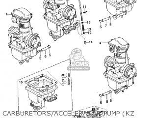 Kawasaki Kz650b2 1978 Usa Canada / Mph Kph parts list