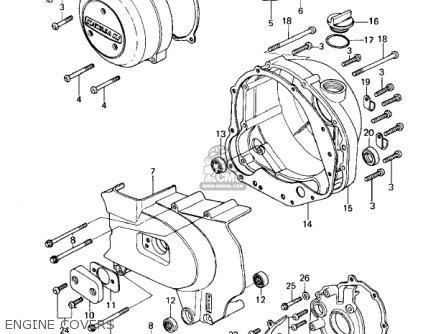 Kawasaki Kz650c1 Custom 1977 Usa Canada / Mph Kph parts