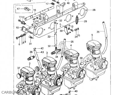 Kawasaki Kz650d1 Sr 1978 Usa Canada parts list partsmanual