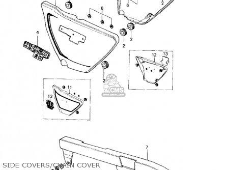 Kawasaki Kz650d2 Sr 1979 Usa Canada parts list partsmanual