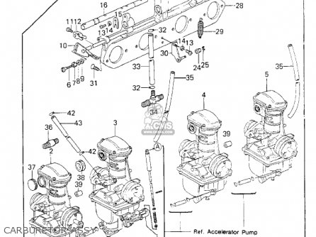 Kawasaki Kz650e1 Ltd 1980 Usa / Mph parts list partsmanual