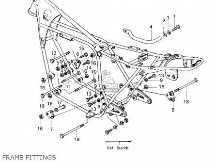Kawasaki Kz650e1 Ltd 1980 Usa / Mph parts list partsmanual