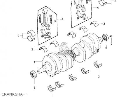 Kawasaki KZ650F1 1980 USA CANADA parts lists and schematics