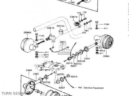 Kawasaki Ke100 Wiring Diagram Kawasaki Kz200 Wiring