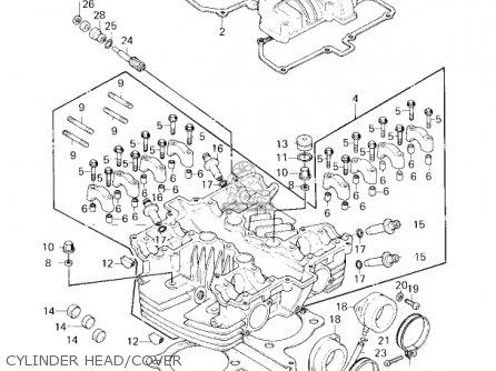 Kawasaki KZ750G1 1980 USA CANADA / LTDII MPH KPH parts