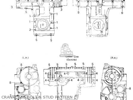 Kawasaki Kz750h3 1982 Usa Canada / Ltd parts list