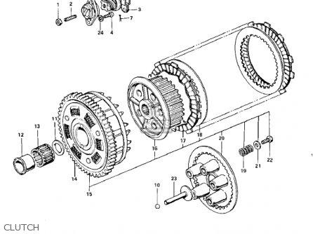 Kawasaki Kz900 A5 1977 Usa parts list partsmanual partsfiche
