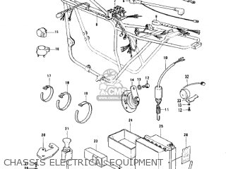 Kawasaki KZ900A5 1977 USA CANADA parts lists and schematics