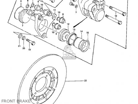 Kawasaki KZ900A5 1977 USA CANADA parts lists and schematics