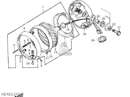 Kawasaki Kz900b1 1976 Usa Canada/ Ltd parts list