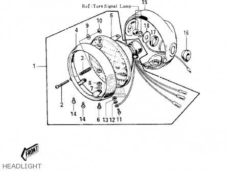 Kawasaki S1B MACH I 1974 USA CANADA parts lists and schematics