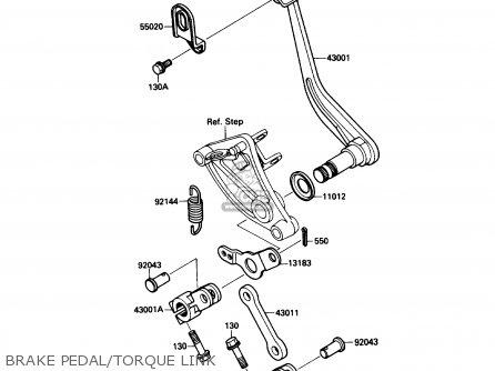 Kawasaki Vn1500b3 Vn15se 1989 Canada parts list