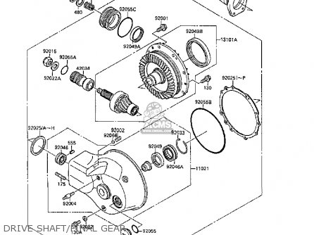 Kawasaki Mule 1000 Engine Parts Diagram