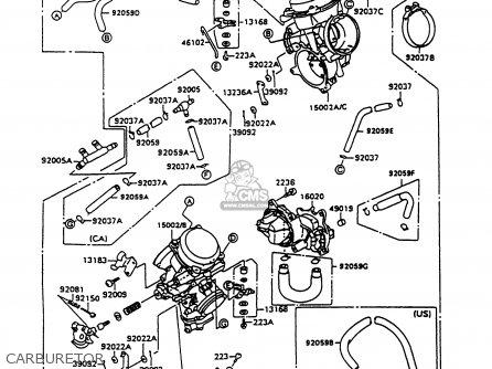 Kawasaki Vn1500c4 Vulcan 1500l 1997 Usa California parts
