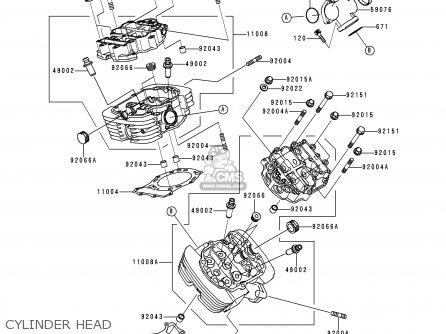 Kawasaki VN1500D1 VN1500 CLASSIC 1996 EU UK FR NL AR FG GR
