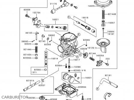 Kawasaki VN1500F1 VN1500 CLASSIC 1998 AUSTRIA FG ST parts