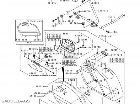 Kawasaki VN1500H2 VN1500 CLASSIC TOURER 1999 AUSTRIA FG ST