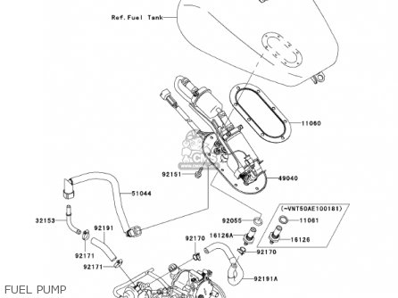 Kawasaki VN1500L3 VULCAN 1500 NOMAD FI 2002 USA CALIFORNIA
