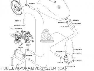 Kawasaki VN1500R3 VULCAN 1500 DRIFTER 2003 USA CALIFORNIA