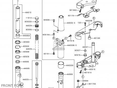 Kawasaki Vn400c4 Vulcan Classic 1994 Greece parts list