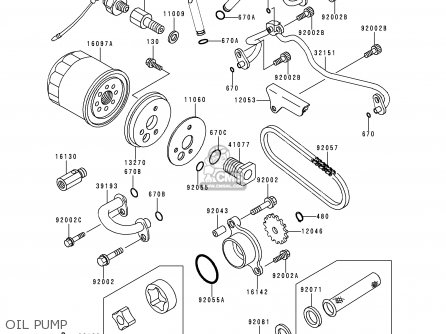 Kawasaki VN400C4 VULCAN CLASSIC 1994 GREECE parts lists