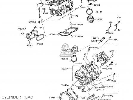 Kawasaki Vn750a10 Vulcan 750 1994 Usa California Canada