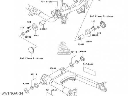 Kawasaki VN750A17 VULCAN 750 2001 USA CALIFORNIA parts