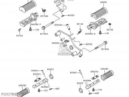Kawasaki VN800A3A 1997 NETHERLANDS parts lists and schematics