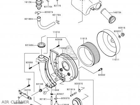 Kawasaki Vn800a5 1999 Netherlands Fg Gr Nr Sd parts list