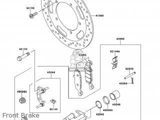 Kawasaki VN900BCF VULCAN 900 CLASSIC 2012 USA parts lists