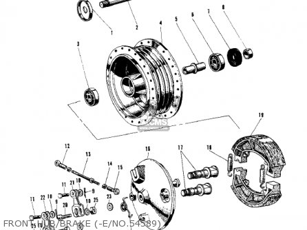 Kawasaki W2SS COMMANDER 1969 USA CANADA parts lists and