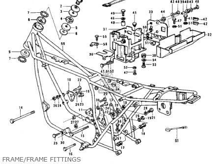 Kawasaki Z1A 1974 USA CANADA parts lists and schematics