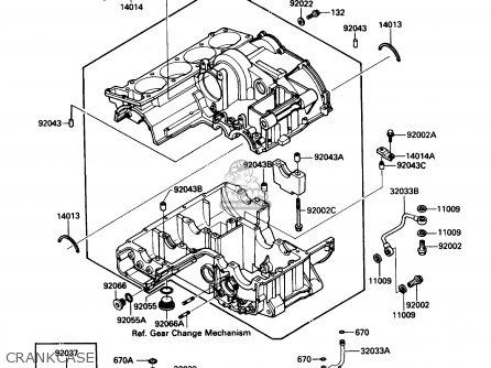 Kawasaki Zg1000a1 Concours 1986 Usa California Canada