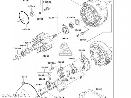 Kawasaki Zg1000a16 Concours 2001 Usa California Canada