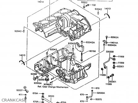 Kawasaki Zg1000a8 Concours 1993 Usa California Canada