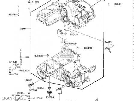Kawasaki ZG1200A1 VOYAGER XII 1986 USA CALIFORNIA CANADA
