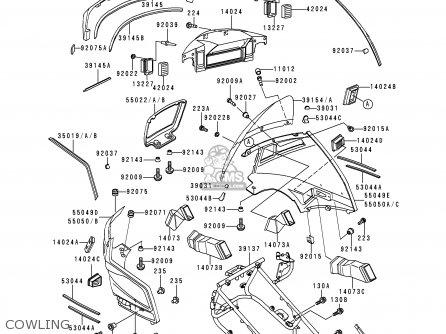 Kawasaki Zg1200b13 Voyager Xii 1999 Usa California Canada
