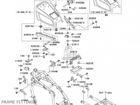 Kawasaki ZG1200B16 VOYAGER XII 2002 USA CALIFORNIA CANADA